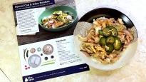 blue apron vivian nweze vivian adaobi seared cod and udon noodles posh poise polish food cook yummy fun diy